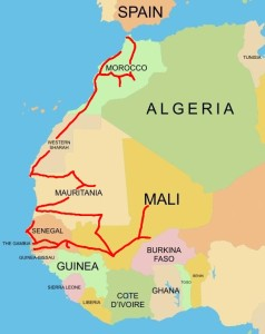 7. West Africa