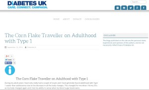 Diabetes Blog - Adulthood with Type 1