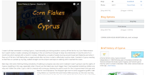 Cyprus Travel Blog Photo